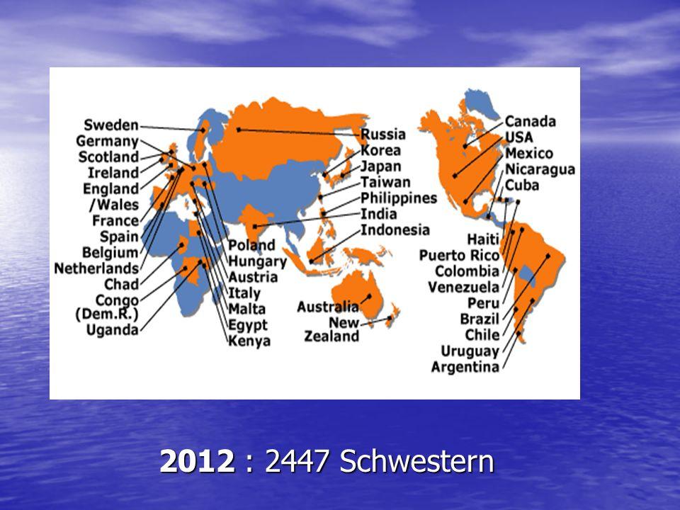 2012 : 2447 Schwestern