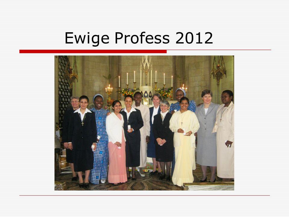 Ewige Profess 2012