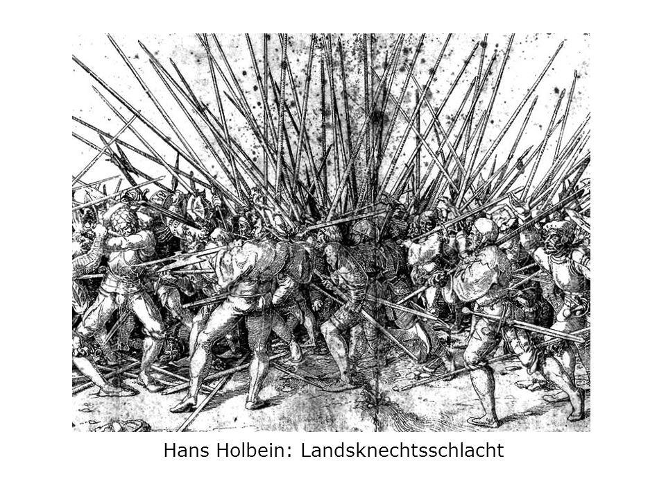 Hans Holbein: Landsknechtsschlacht