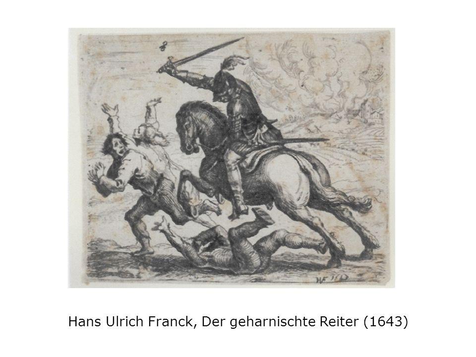 Hans Ulrich Franck, Der geharnischte Reiter (1643)