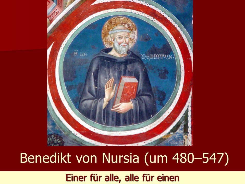 Benedikt von Nursia (um 480–547)