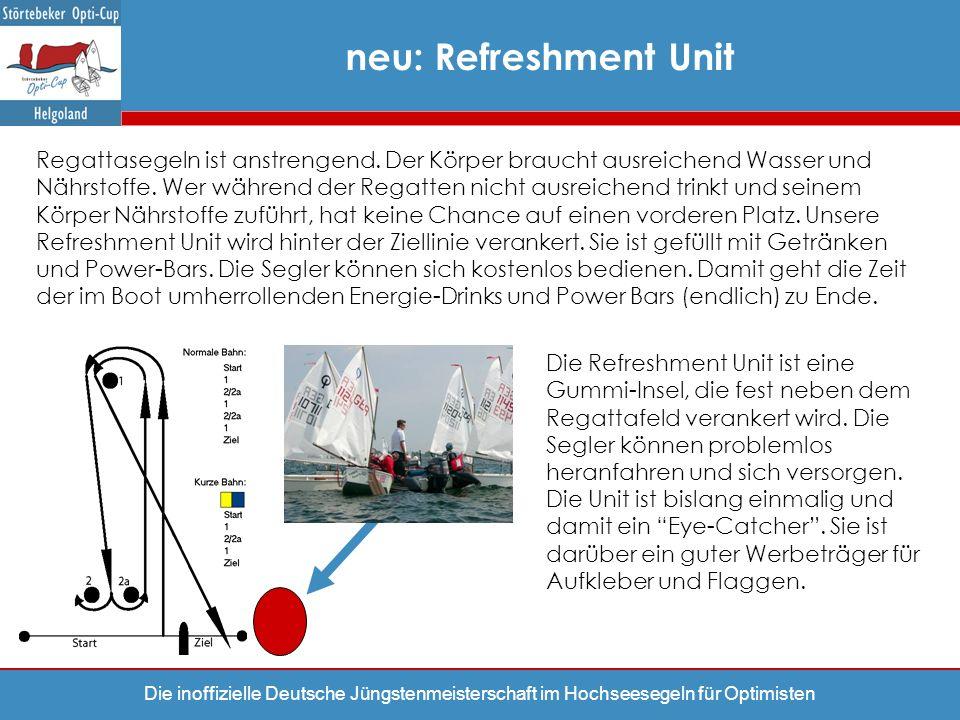Die inoffizielle Deutsche Jüngstenmeisterschaft im Hochseesegeln für Optimisten Regattasegeln ist anstrengend. Der Körper braucht ausreichend Wasser u