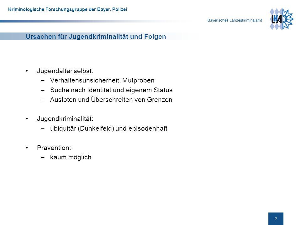 8 Kriminologische Forschungsgruppe der Bayer.