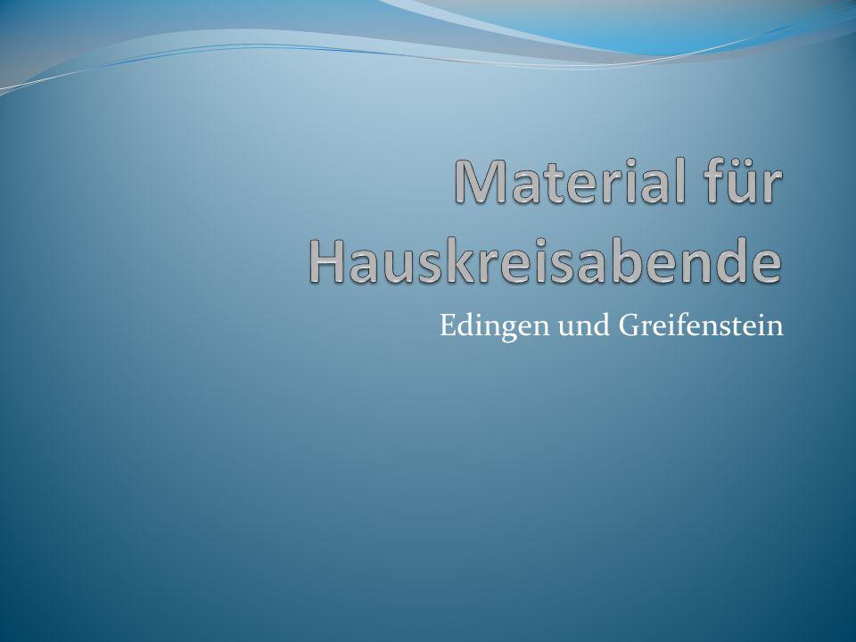 Edingen und Greifenstein