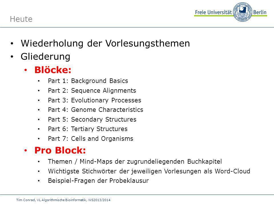Block 1 Background Basics Topics: 1.The Nucleic Acid World 2.