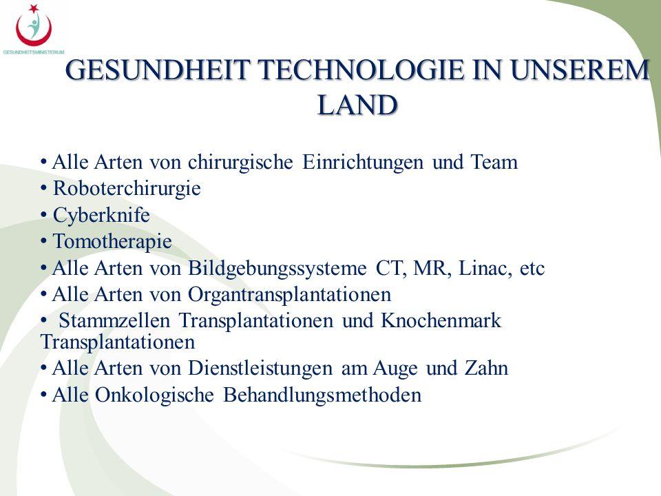GESUNDHEIT TECHNOLOGIE IN UNSEREM LAND Alle Arten von chirurgische Einrichtungen und Team Roboterchirurgie Cyberknife Tomotherapie Alle Arten von Bild