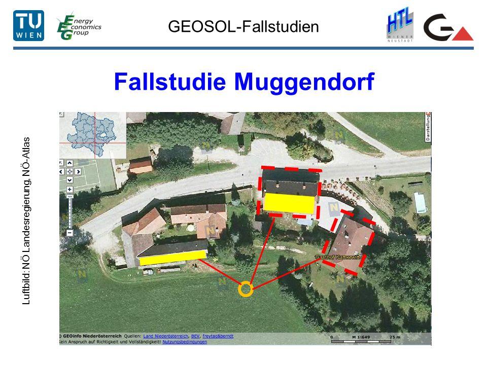GEOSOL-Fallstudien Fallstudie Muggendorf Luftbild: NÖ Landesregierung, NÖ-Atlas