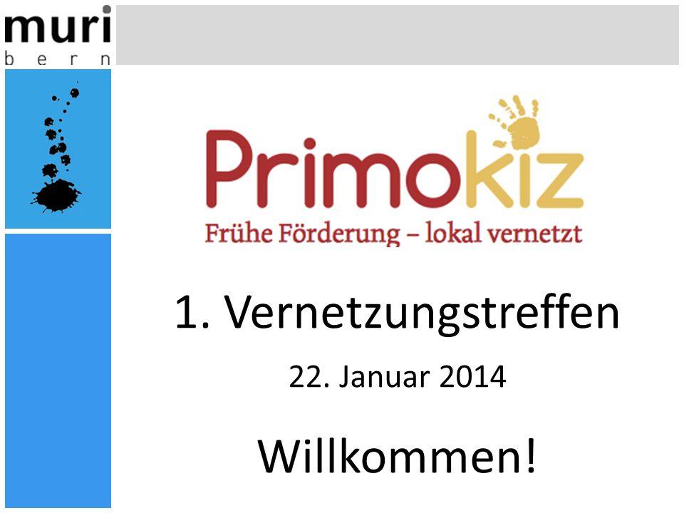 1. Vernetzungstreffen 22. Januar 2014 Willkommen!
