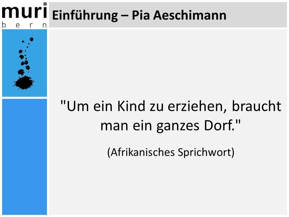 Einführung – Pia Aeschimann