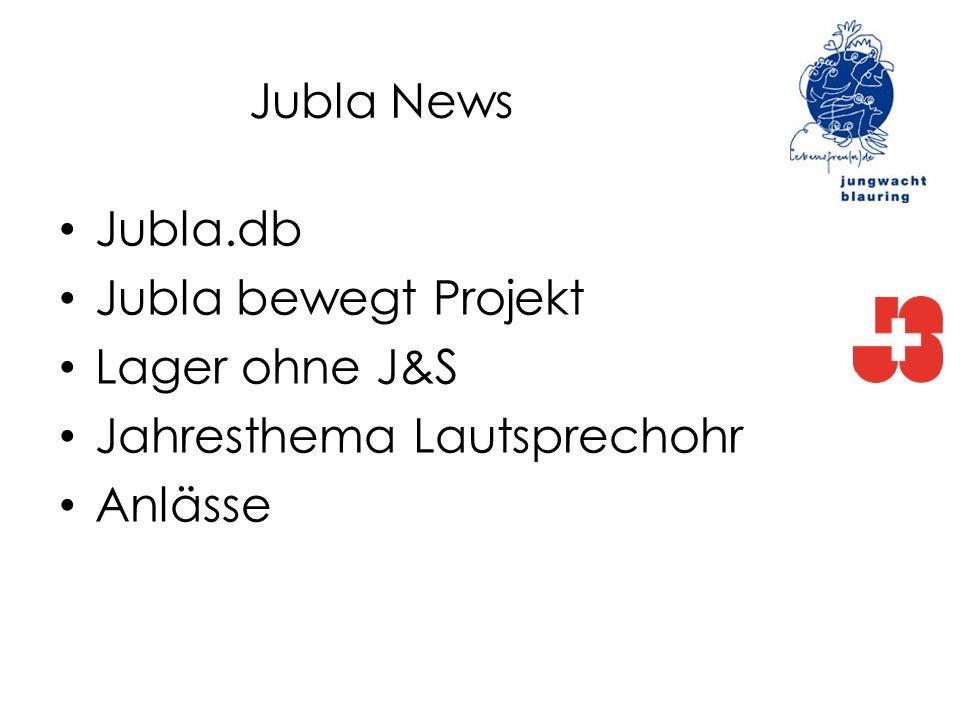 Jubla News Jubla.db Jubla bewegt Projekt Lager ohne J&S Jahresthema Lautsprechohr Anlässe