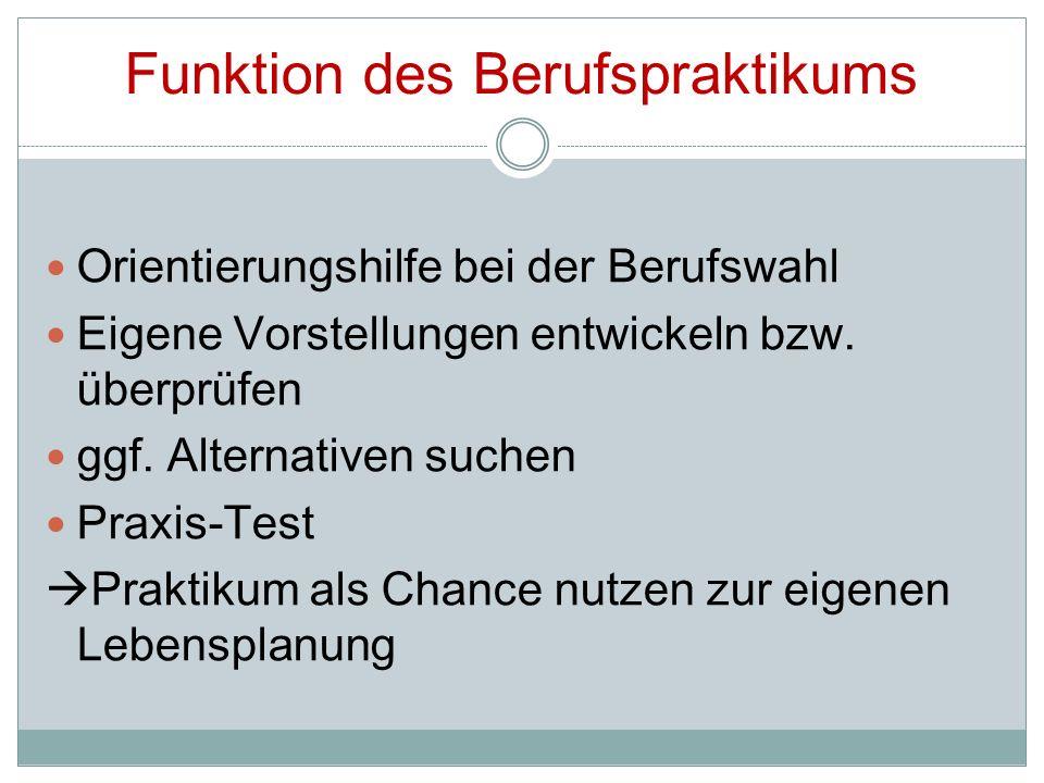 Versicherungsschutz Praktikum = Schulveranstaltung Unfall- und Haftpflichtversicherung über Westerwaldkreis und die Unfallkasse Rheinland- Pfalz Versicherungsschutz gilt nur für alle Tätigkeiten und Unternehmungen, die in direktem Bezug zum Praktikum stehen
