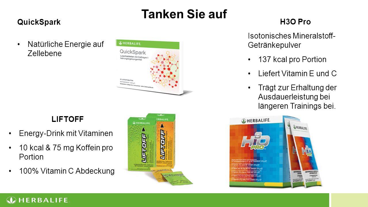 17 H3O Pro Isotonisches Mineralstoff- Getränkepulver 137 kcal pro Portion Liefert Vitamin E und C Trägt zur Erhaltung der Ausdauerleistung bei längeren Trainings bei.