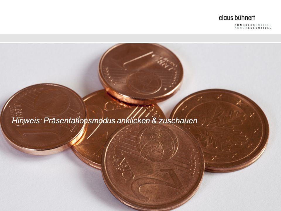 Budgetplan Hinweis: Präsentationsmodus anklicken & zuschauen