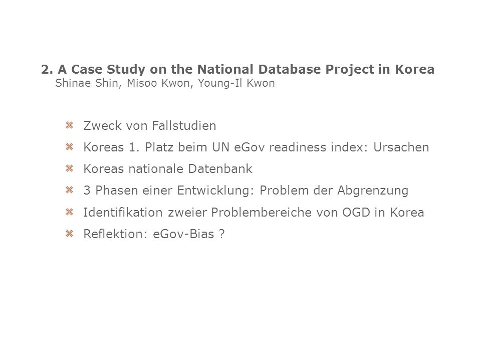 3.A Workshop about Using Open Public Sector Data: The ENGAGE Project.