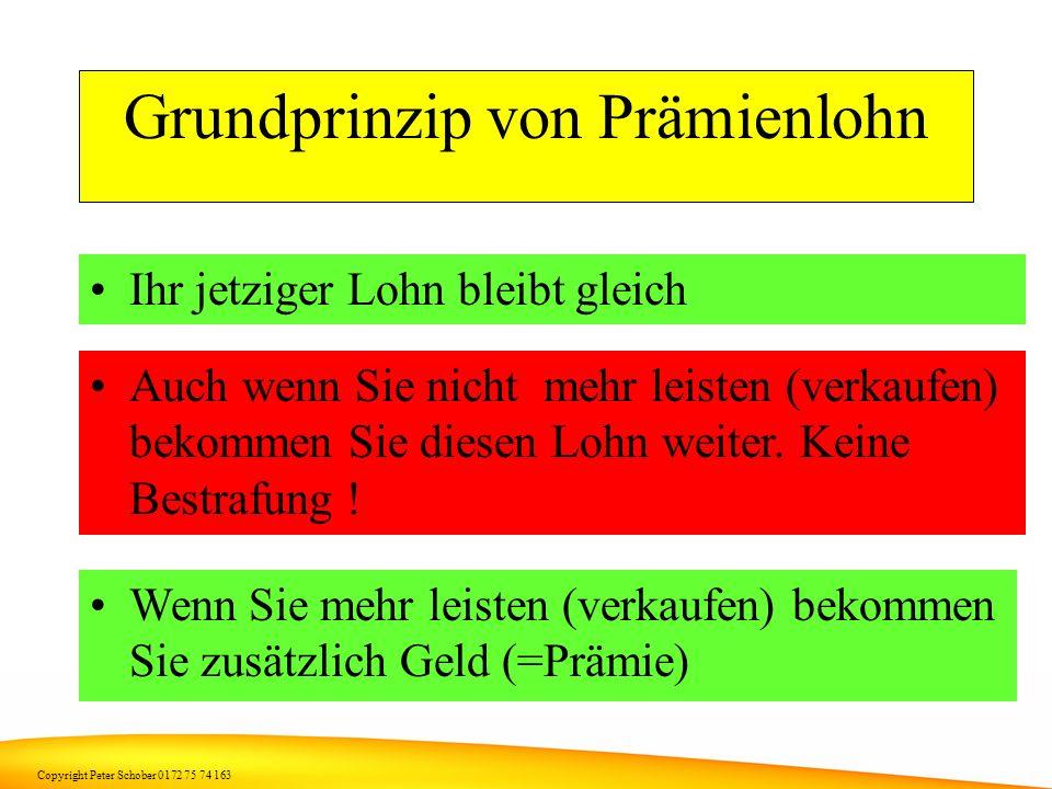 Copyright Peter Schober 0172 75 74 163 Und wenn es funktioniert....