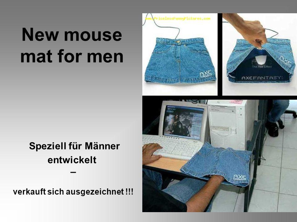 New mouse mat for men Speziell für Männer entwickelt – verkauft sich ausgezeichnet !!!