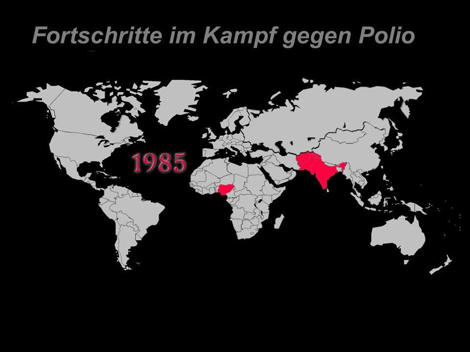 Fortschritte im Kampf gegen Polio