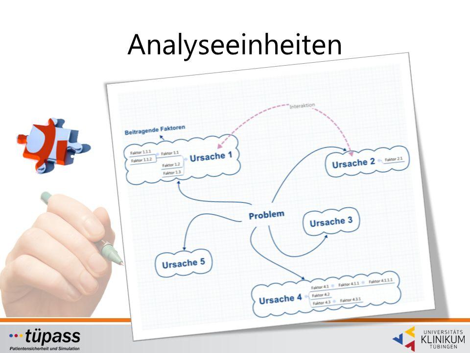 Analyseeinheiten