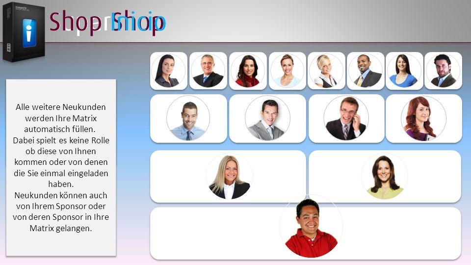 SuperShop Mit dem Wechsel der Matrix besitzen Sie nun den Shop Inicio Mit dem Wechsel der Matrix besitzen Sie nun den Shop Inicio Alle weitere Neukund