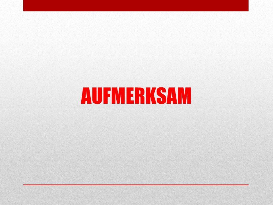 AUFMERKSAM