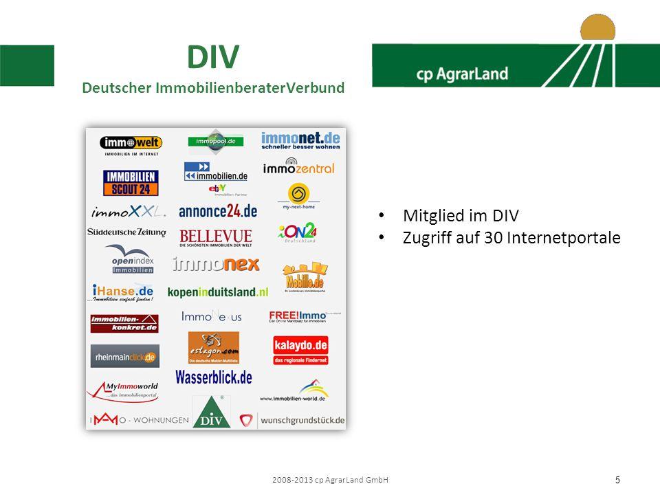 2008-2013 cp AgrarLand GmbH 6 Netzwerk Vorteile für Verkäufer Ortsnähe der Partner Fachliche, regionale Kompetenz Geregelte Vertragswerke Persönliche Betreuung Individuelles Marketing Geprüfte Kundenkartei mit vielseitiger Käuferschicht Höchste Vertraulichkeit Schnelle Vermarktung durch Medien und Netzwerkpartner