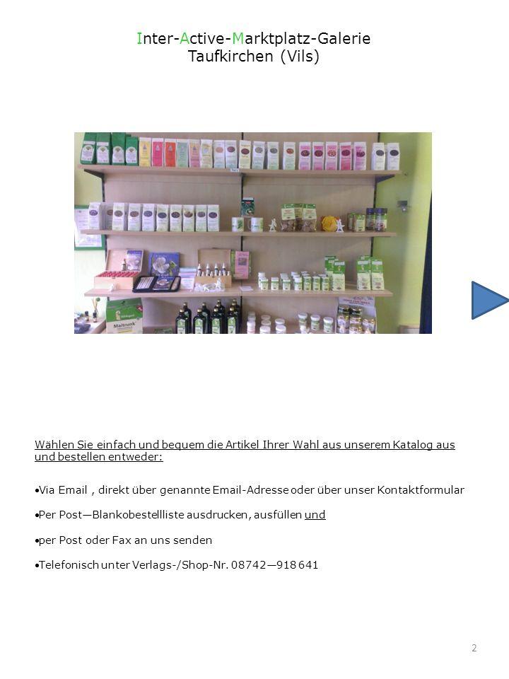 3.TeeS. 4 - 14. Kräuter und GewürzeS. 15 - 18 Sonstige DrogerieArtikel S.