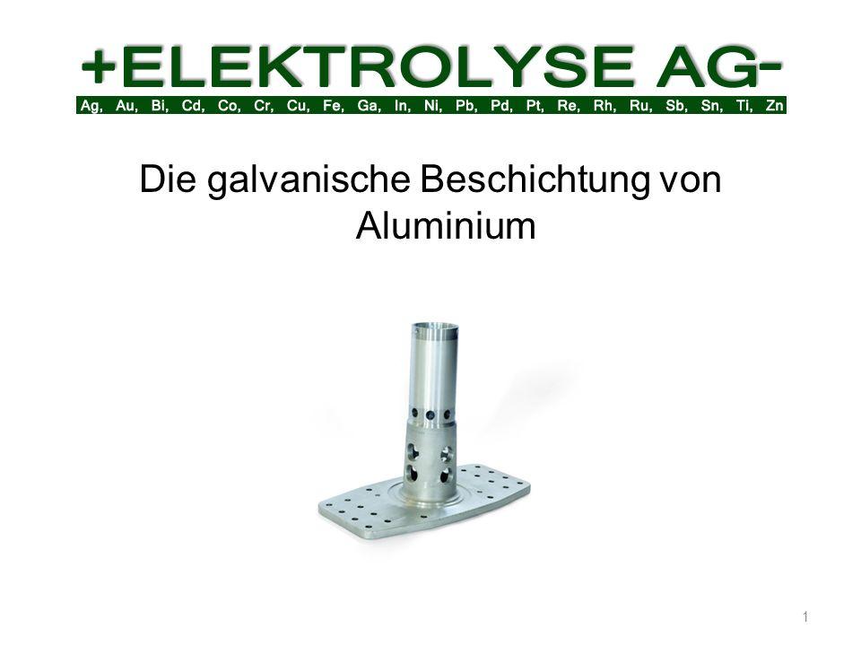 Zum galvanisieren bedarf es einer metallisch reinen Oberfläche.