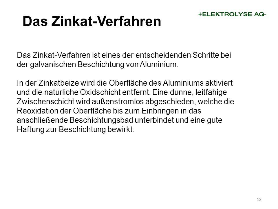 Das Zinkat-Verfahren ist eines der entscheidenden Schritte bei der galvanischen Beschichtung von Aluminium.