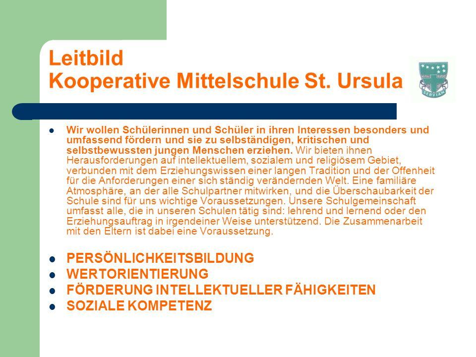 Leitbild Kooperative Mittelschule St.
