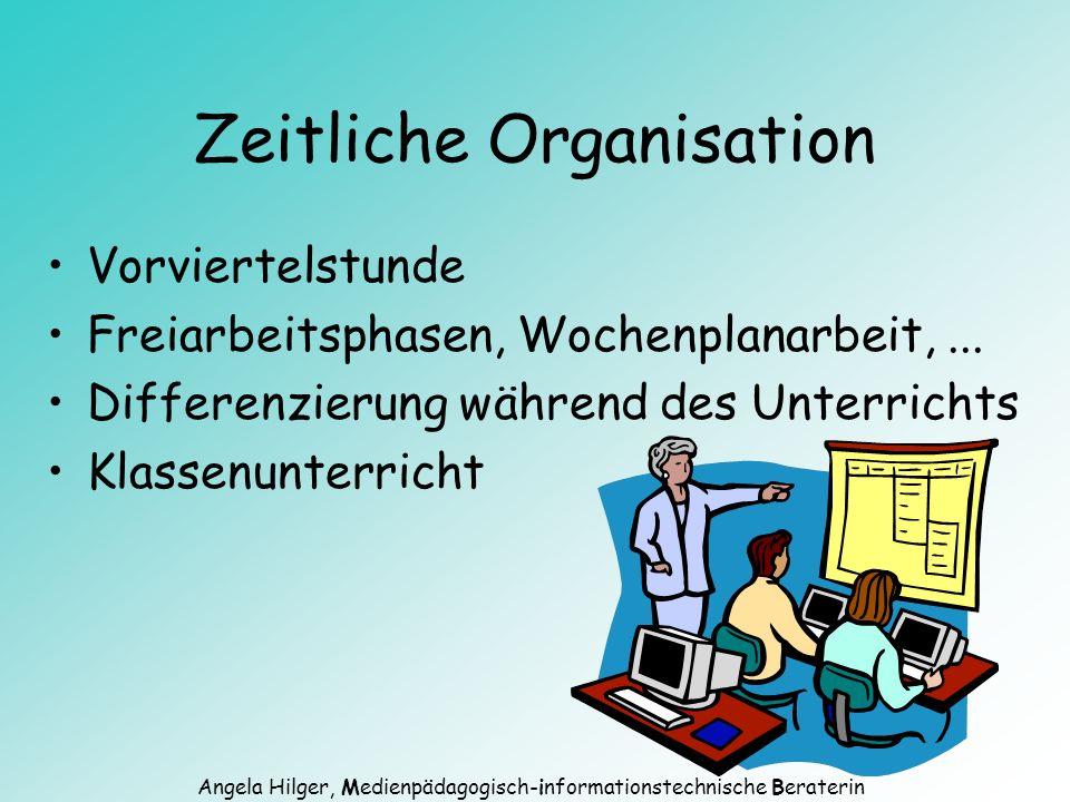 Angela Hilger, Medienpädagogisch-informationstechnische Beraterin Was fordert der neue Lehrplan.