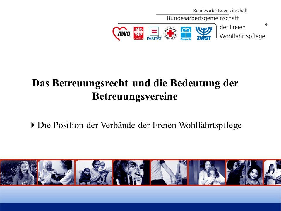 Die Bedeutung der Betreuungsvereine im Betreuungswesen -eine heutige Innensicht Barbara Dannhäuser AS Rechtliche Betreuung DCV, SkF, SKM