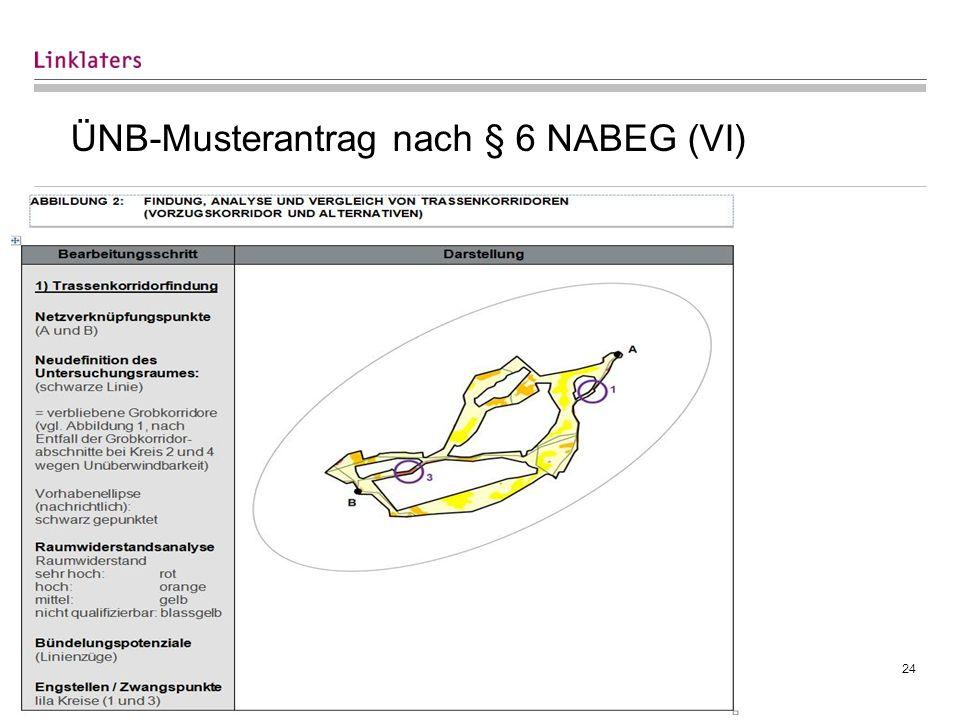 24 ÜNB-Musterantrag nach § 6 NABEG (VI)
