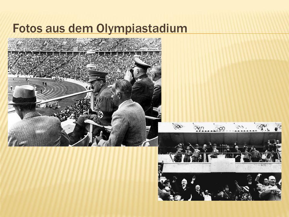 Fotos aus dem Olympiastadium