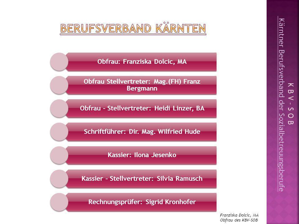 Gespräch mit verantwortlichen Politikern und Forderung nach Vorantreiben des Berufsbildes Sommer 2009: Kärntner Heimverordnung (LR Mag.