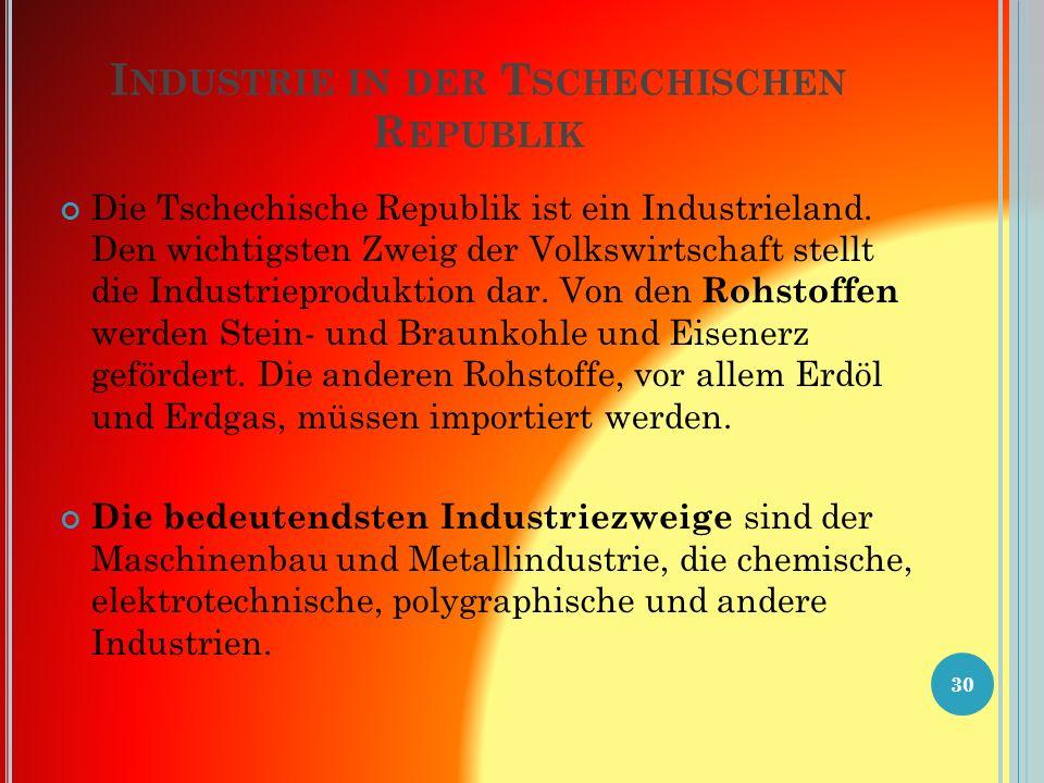 T YPISCHE TSCHECHISCHE G ETRÄNKE Pilsner Urquell ( Plzeňský Prazdroj ) Budweiser Budvar ( Budějovický Budvar ): Budweiser Bier.