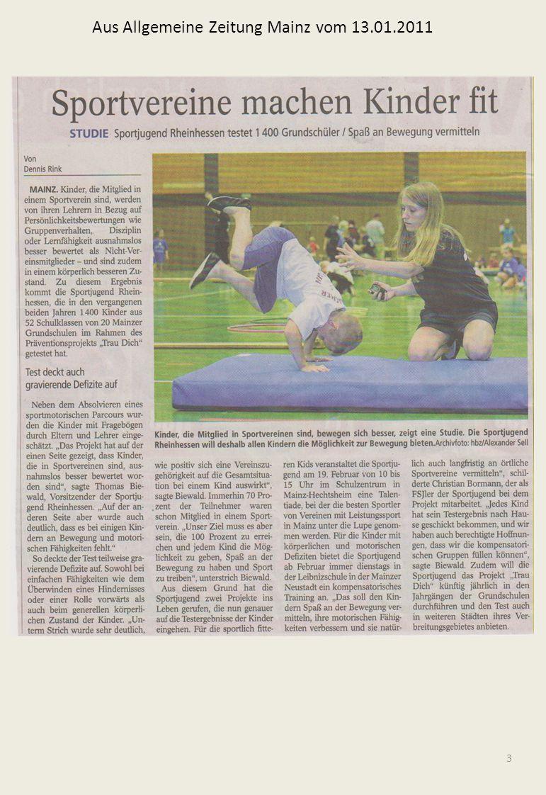 3 Aus Allgemeine Zeitung Mainz vom 13.01.2011