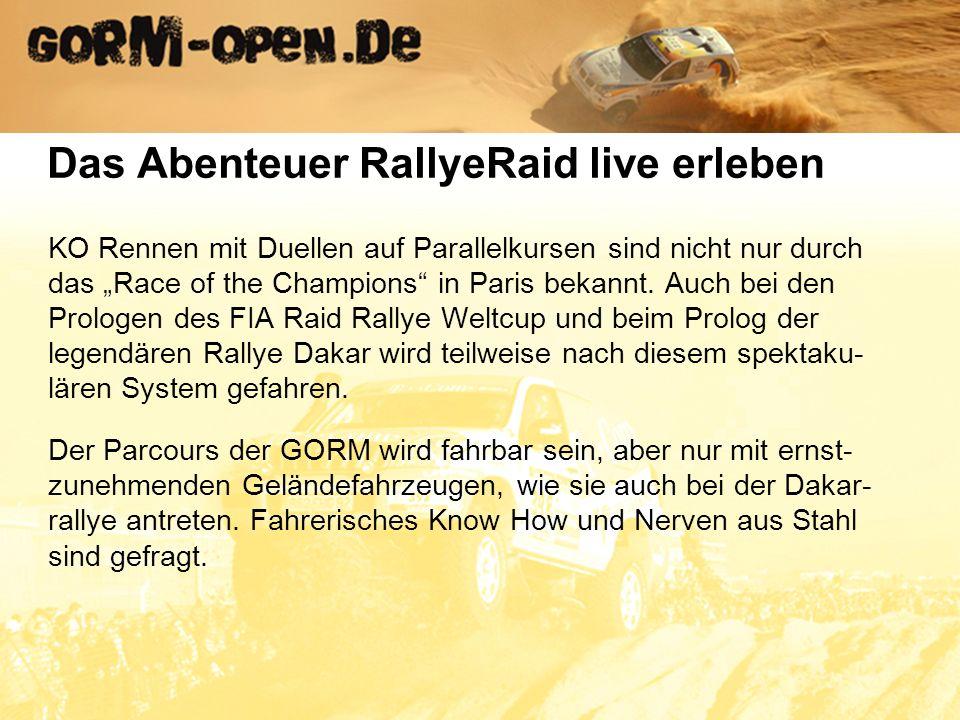 Wenn die Nachfrage nach diesem Event unseren Erwartungen entspricht, ist für 2008 eine Serie von vier Läufen geplant mit dem Finale am Nürburgring.