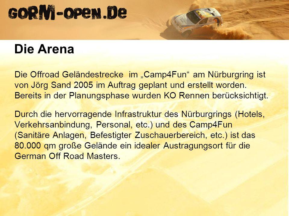Die Offroad Geländestrecke im Camp4Fun am Nürburgring ist von Jörg Sand 2005 im Auftrag geplant und erstellt worden.