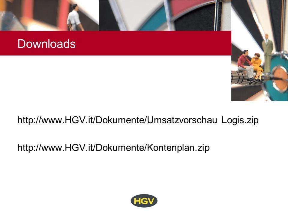 Downloads http://www.HGV.it/Dokumente/Umsatzvorschau Logis.zip http://www.HGV.it/Dokumente/Kontenplan.zip