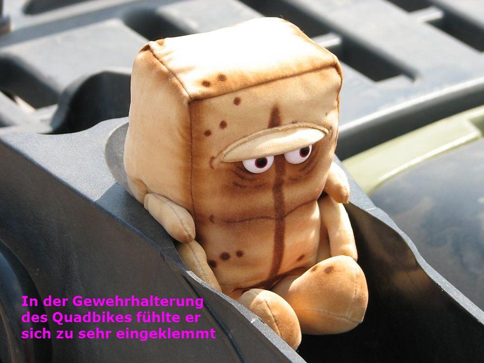 Bernd bekam eine Sonnenfinsternisbrille von BAADER PLANETARIUM und einen super Beobachtungsplatz