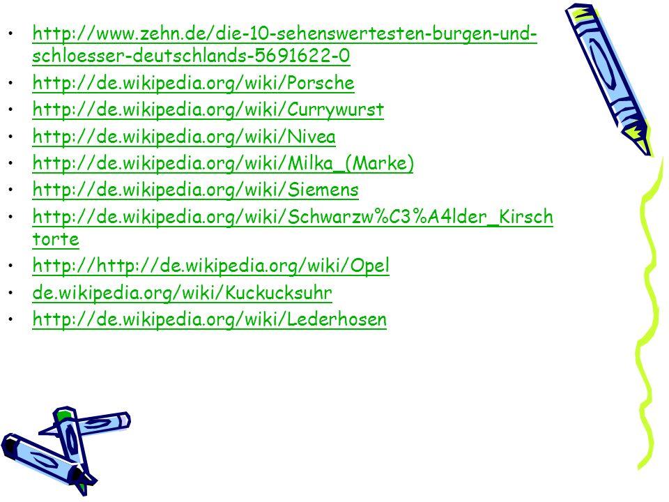 http://www.zehn.de/die-10-sehenswertesten-burgen-und- schloesser-deutschlands-5691622-0http://www.zehn.de/die-10-sehenswertesten-burgen-und- schloesse