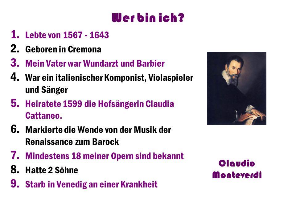 Wer bin ich.-Ich lebte 1885 bis 1924 -Ich war ein Meister der internationalen Opernszene -geb.