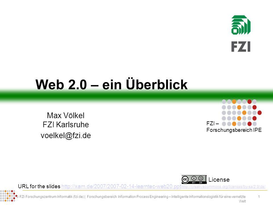 1 FZI Forschungszentrum Informatik (fzi.de) | Forschungsbereich Information Process Engineering – Intelligente Informationslogistik für eine vernetzte