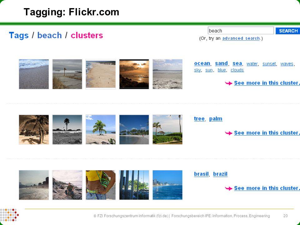 20 FZI Forschungszentrum Informatik (fzi.de) | Forschungsbereich IPE: Information, Process, Engineering Tagging: Flickr.com