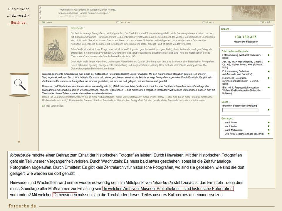 Aktuell Start als Privatinitiative jetzt Teil des www.sepiadigital.de – Projektes des Instituts für Museumsforschung – SMB/PK