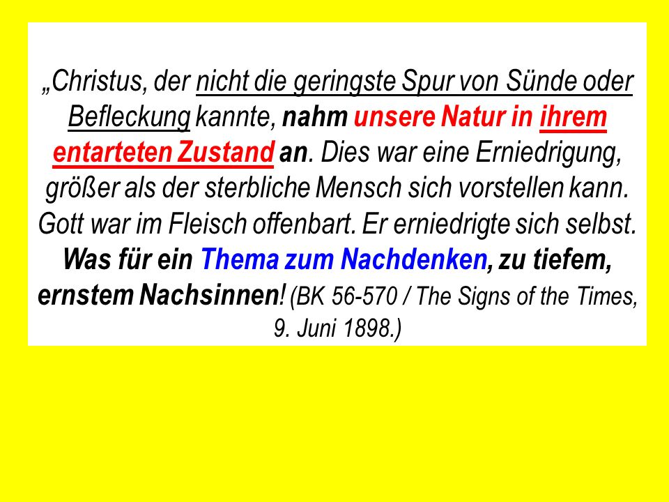 Ein Vergleich bezüglich der Verunreinigung und Reinigung des Heiligtums von Dan.8 zu 3.Mose 4 + 16 (STA-Sicht) Das himml.