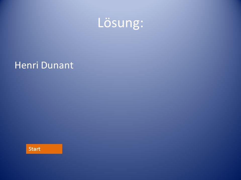 Lösung: Henri Dunant Start