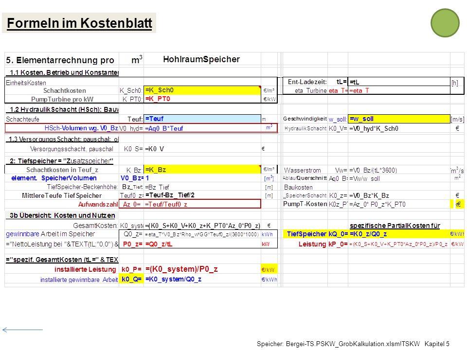 Formeln im Kostenblatt Speicher: Bergei-TS.PSKW_GrobKalkulation.xlsm!TSKW Kapitel 5
