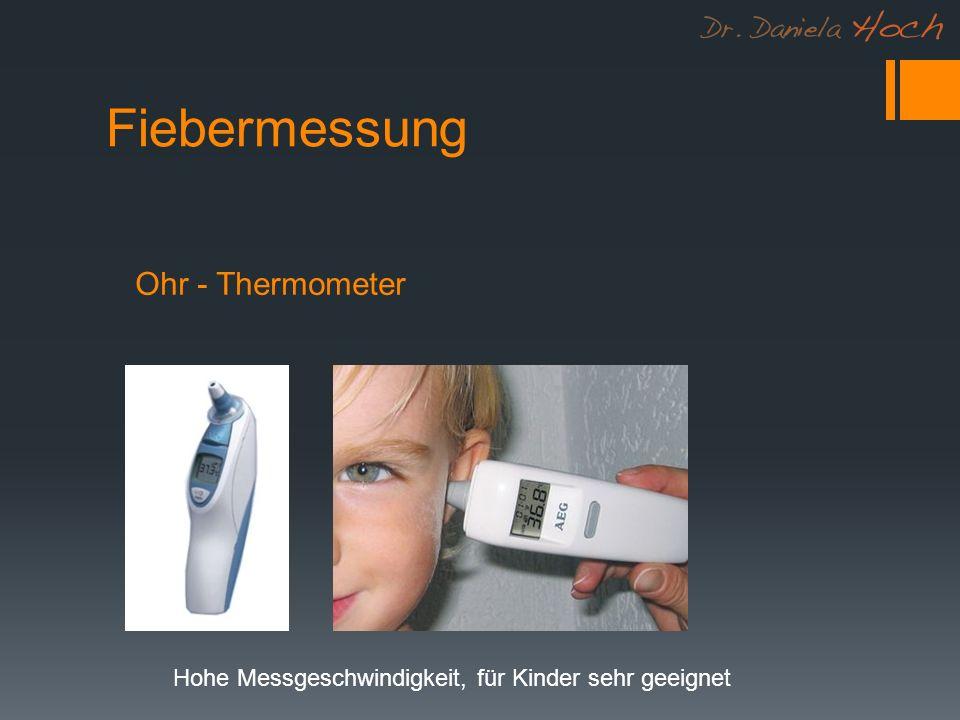 Fiebermessung Ohr - Thermometer Hohe Messgeschwindigkeit, für Kinder sehr geeignet
