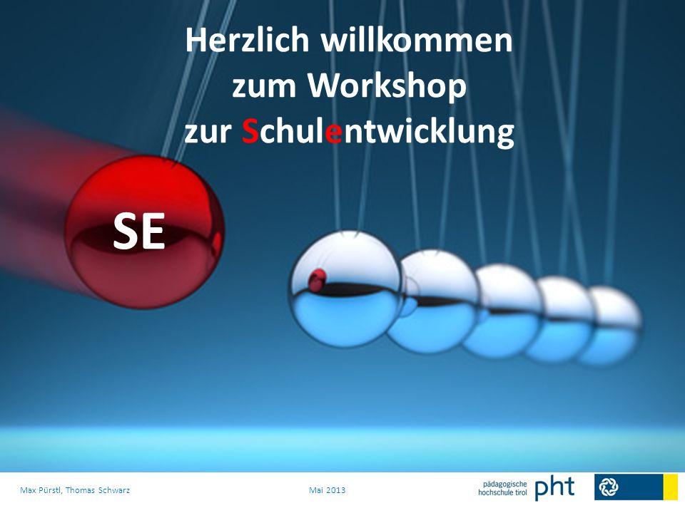 Dies führt vor allem zu einer DYNAMIK die SE ins Leben bringt, wo die ersten Erfolge (Nutzen) erfahrbar werden und eine Sogwirkung für Folgeprozesse nach sich ziehen Max Pürstl, Thomas SchwarzMai 2013